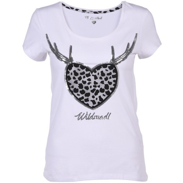 Hailys WILDMADLTrachten T-Shirt mit Pailletten