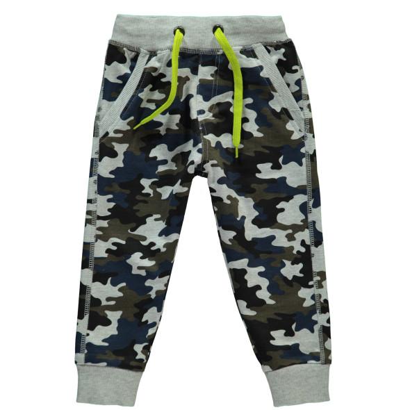Jungen Jogginghose im Camouflage Print