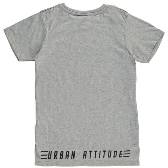 Jungen T-Shirt in melierter Optik
