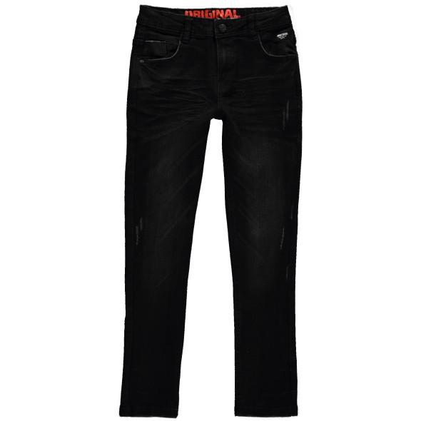 Jungen Jeans mit Abnutzungsdetails