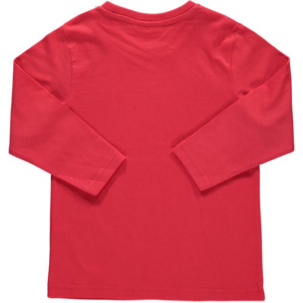 Jungen Shirt mit Paillettenmotiv