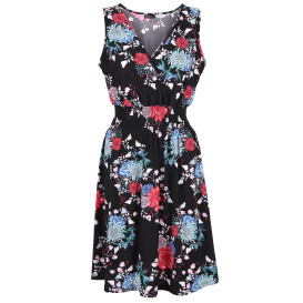 Damen Kleid mit Allover Print