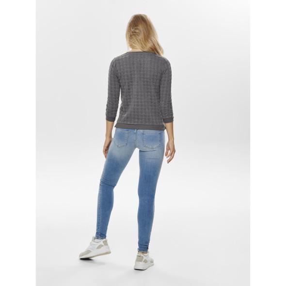 Only ONLMYNTHE JOYCE 3/4 O Sweatshirt