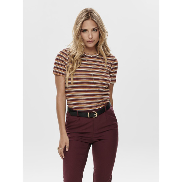 Only ONLNELLA S/S CROPPED Shirt