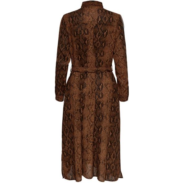 Damen Only Kleid mit Schlangenprint