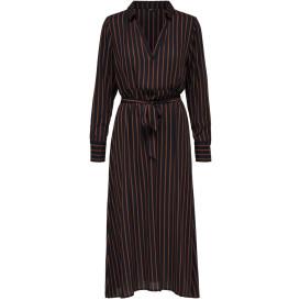 Only ONLPETUNIA L/S SHIRT Kleid mit Streifen