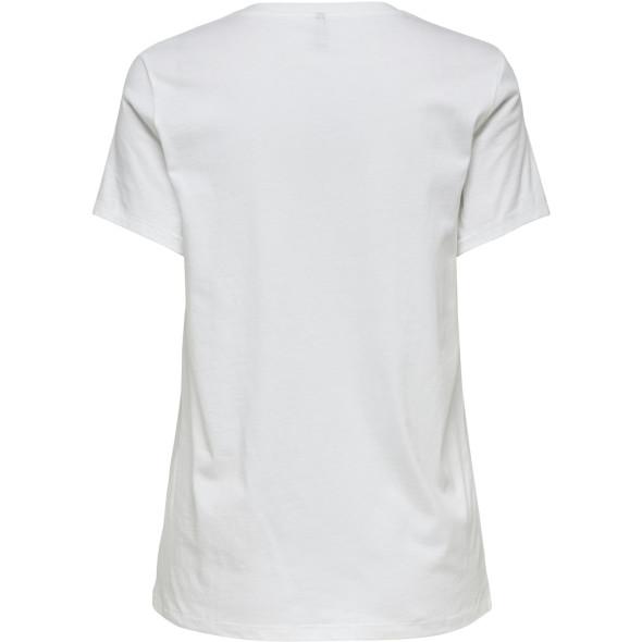 Only ONLWEEKDAY REG S/S PH Shirt mit Frontprint