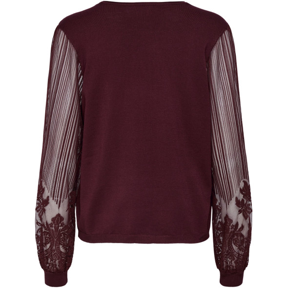 Only ONLLACEY L/S PULLOVER Spitzenpullover