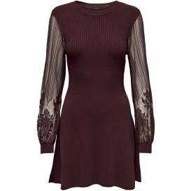 Only ONLLACEY L/S DRESS KN Spitzenkleid