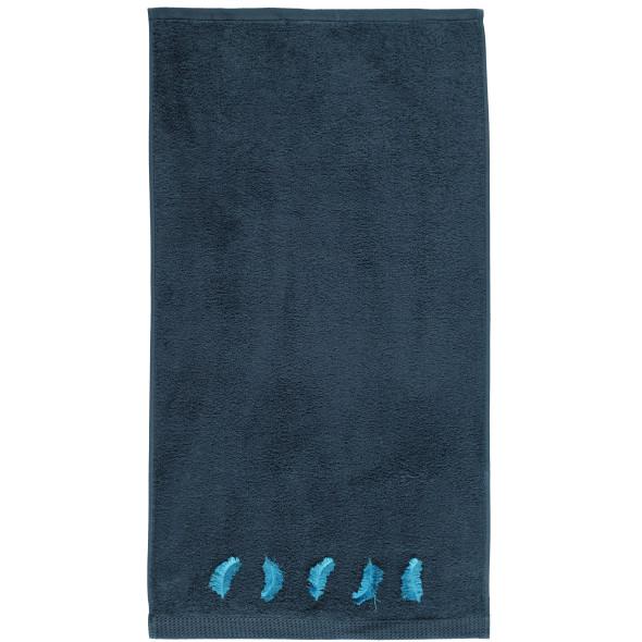 Handtuch mit Federborte 50x90cm
