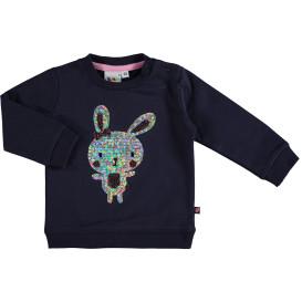 Baby Sweatshirt mit Paillettenmotiv