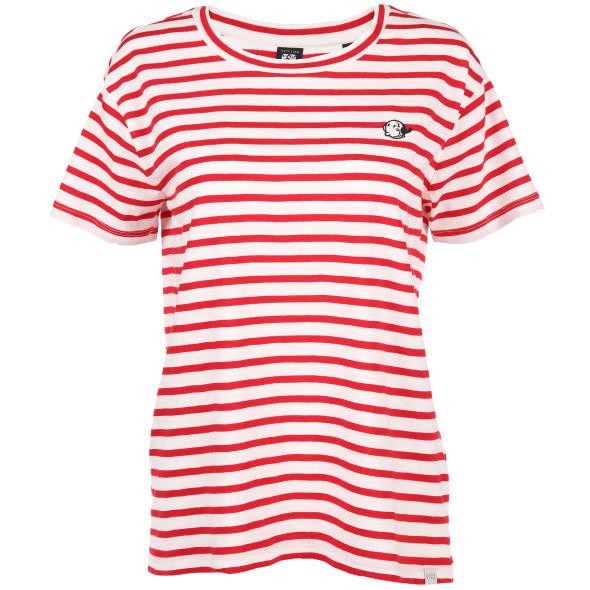 Damen Scotch&Soda Shirt mit Streifen und Stickerei