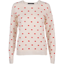 Damen Scotch&Soda Pullover mit Allover Print