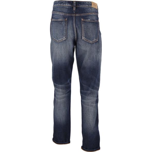 Damen Scotch&Soda Boyfriend Jeans mit Abnutzungsdetails
