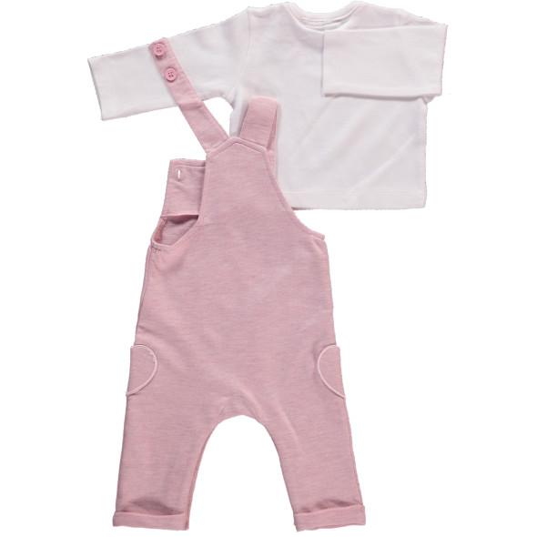 Baby Mädchen 2er Set bestehend aus Shirt und Latzhose