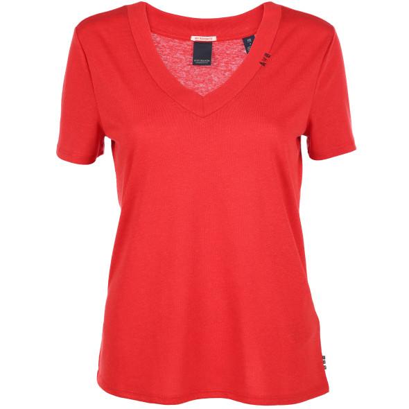 Damen Scotch&Soda Shirt mit V-Ausschnitt