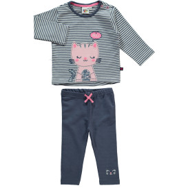 Baby Set, 2tlg. best. aus Sweatshirt und Leggings