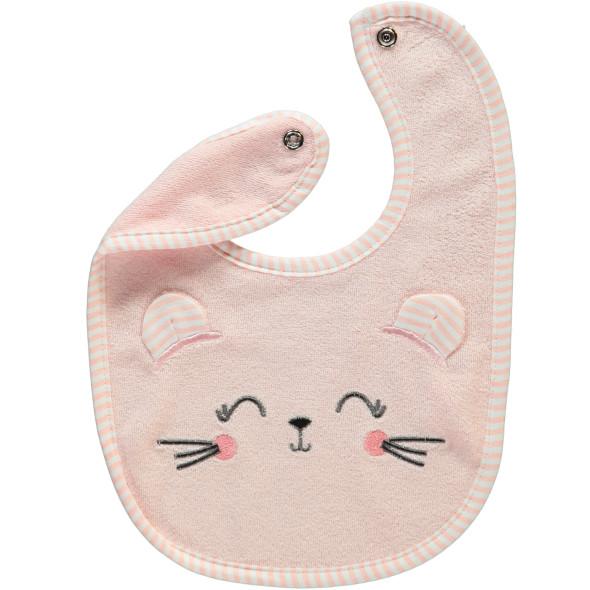 Baby Lätzchen mit Katzenmotiv