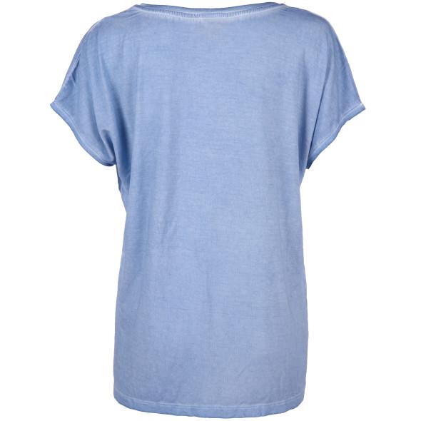 Damen Shirt mit Paillettenmotiv