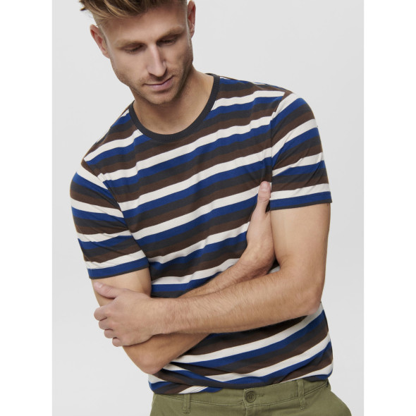 Only& Sons  ONSPATRIK STRIPE TEE T-Shirt