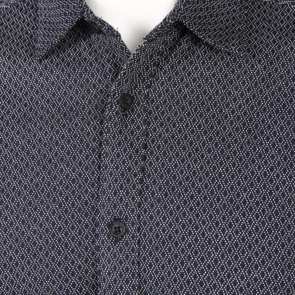 Only&Sons ONSESBEN LS JACQUARD Freizeithemd mit Minimalprint