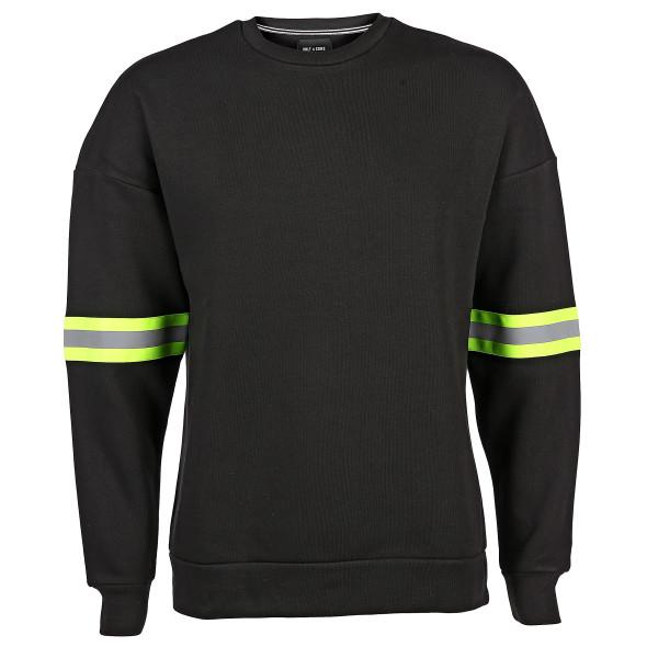 Herren Sweatshirt mit Neondetails