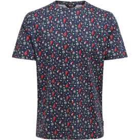 Only & Sons ONSAKASUT SS AOP REG T-Shirt