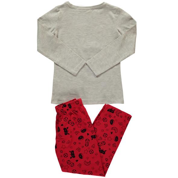 Mädchen Schlafanzug mit Motiv