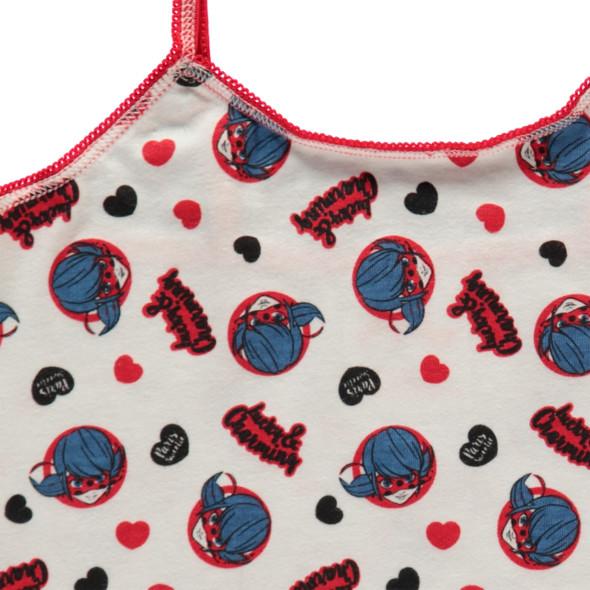 Mädchen Unterhemd mit Alloverprint