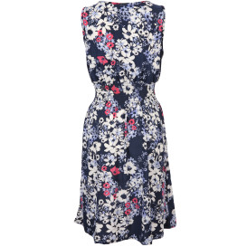 Damen Kleid  mit V-Ausschnitt