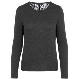 Damen Vero Moda Pullover mit Spitzeneinsatz
