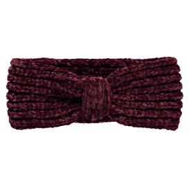 Damen Chenille Stirnband mit Knotendetail