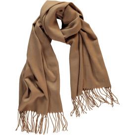 Damen Schal mit Fransen 180x60cm