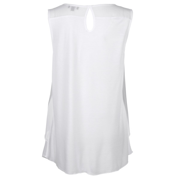 Damen Chiffon Top im Lagenlook