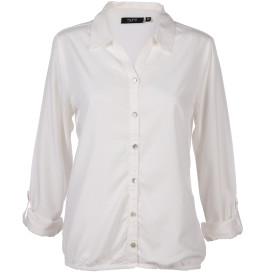 Damen Bluse mit tonalem Allovermuster