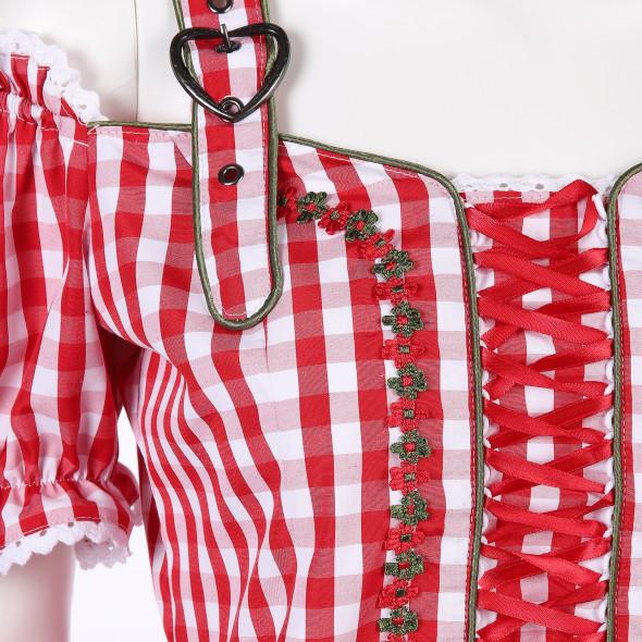 Damen Trachtenmieder Bluse