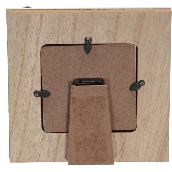 Bilderrahmen Holz, 17x17cm