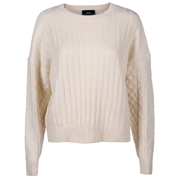 Damen Strickpullover in kurzer Form