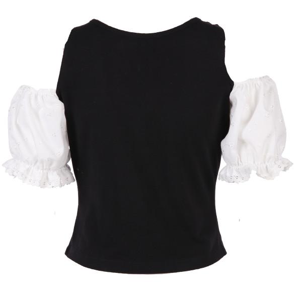 Damen Trachtenshirt mit Schnürung