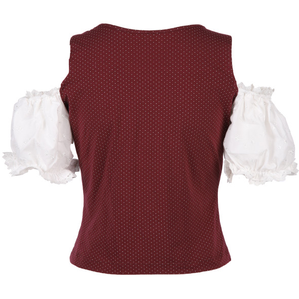 Damen Trachtenshirt im 2in1 Look