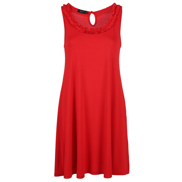 Damen Kleid mit Rüschchen