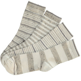 Damen Stricksocken im 4er Pack