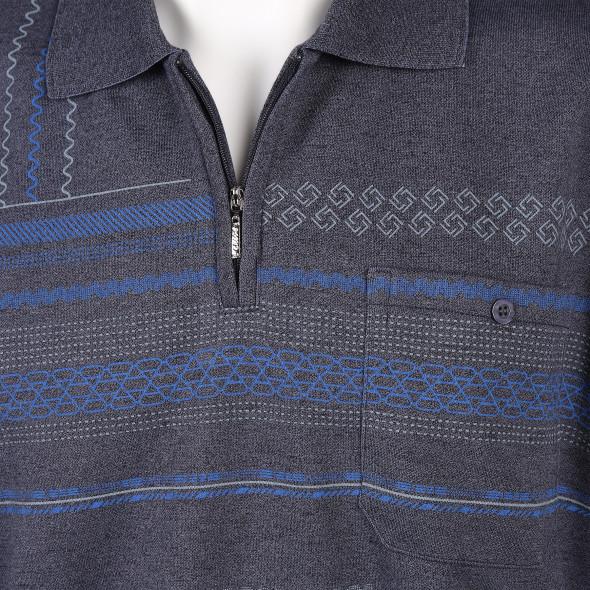Herren Langarm Poloshirt