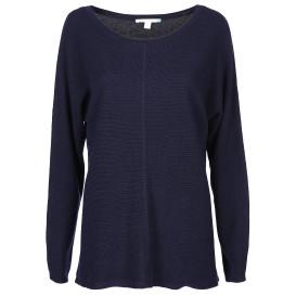 Damen Pullover in gerippter Optik