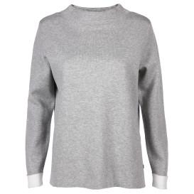 Damen Pullover mit Stehkragen