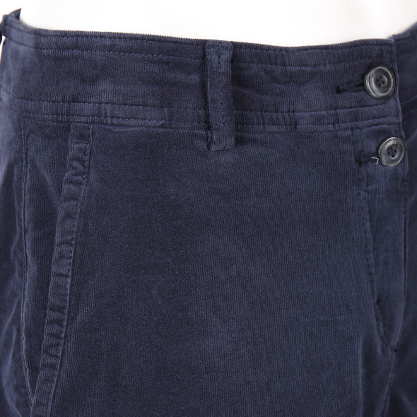Damen Chino in Feincord