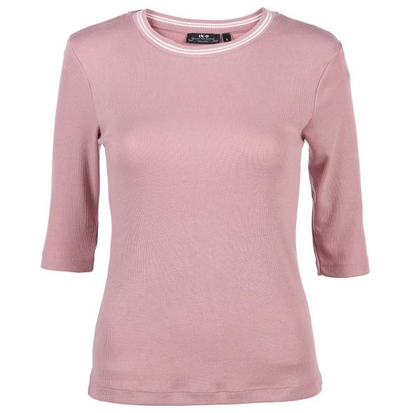 621480441389ae Damen T-Shirt mit 3/4 Ärmeln (Rosa) | AWG Mode
