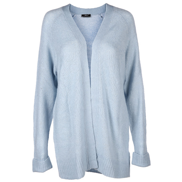 Damen Strickcardigan in langer Form