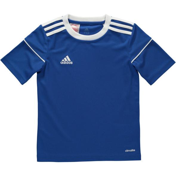 Jungen Sportshirt mit Logo-Stickerei und Streifen