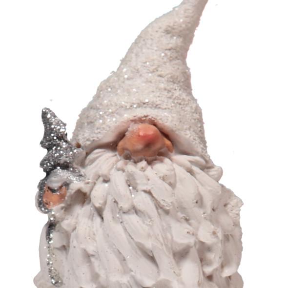 Weihnachtszwerg mit Tannenbaum 8x7x15cm